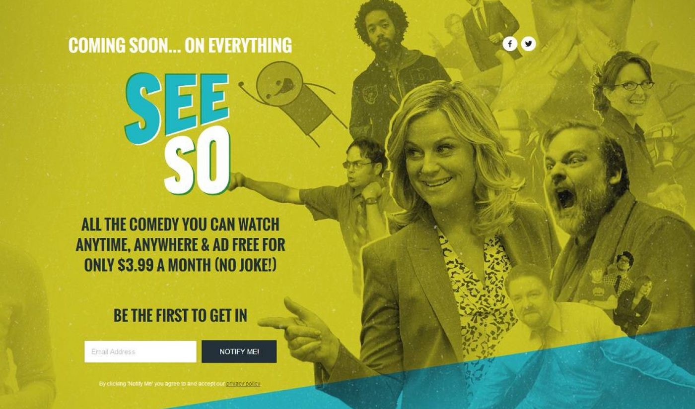 NBCUniversal To Launch Comedy SVOD Service SeeSo In 2016