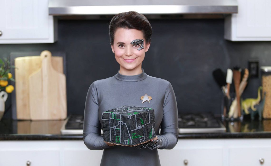 Nerdy Nummies Star Cake