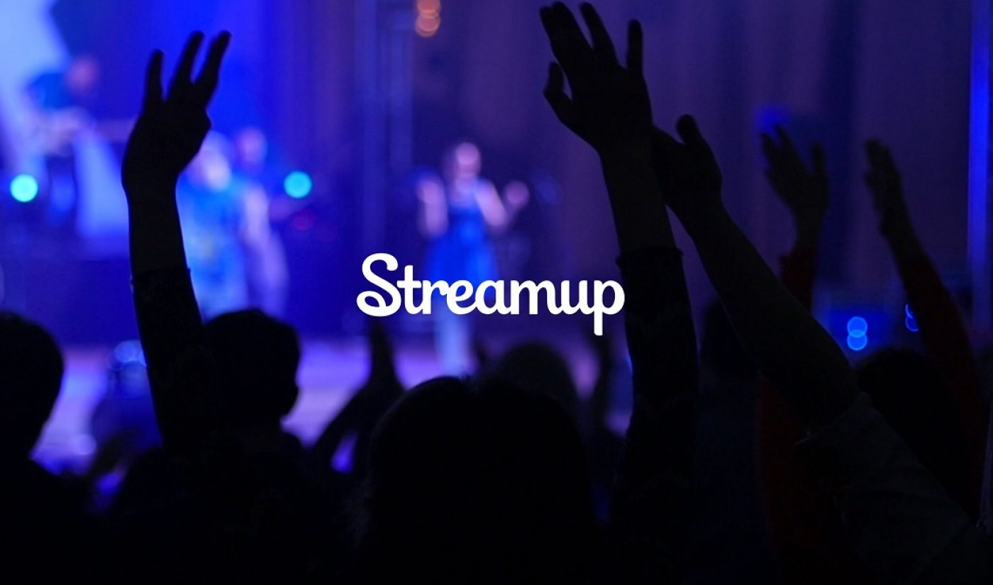 """Will Keenan Calls Live Streaming Company Streamup """"The Netflix Of Live Video"""""""