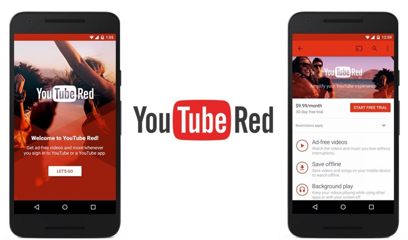 YouTube Red Officially Launches