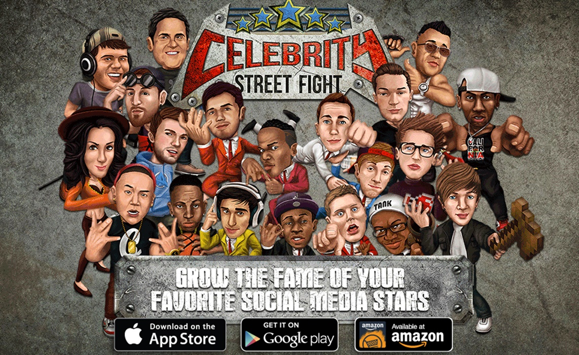 Celebrity Beat Up - Play Your Favorite Game Onli