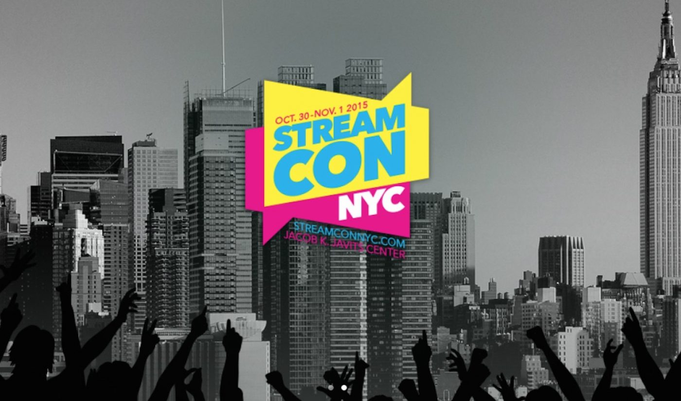 Full Schedule Arrives For Upcoming Stream Con NYC Weekend