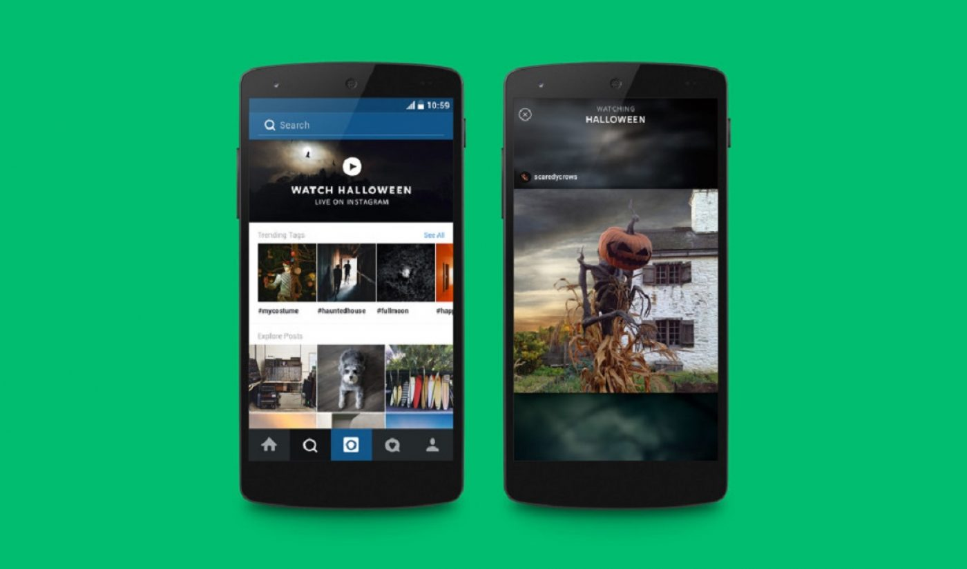 Instagram Launches Snapchat-Like Curated Video Channel