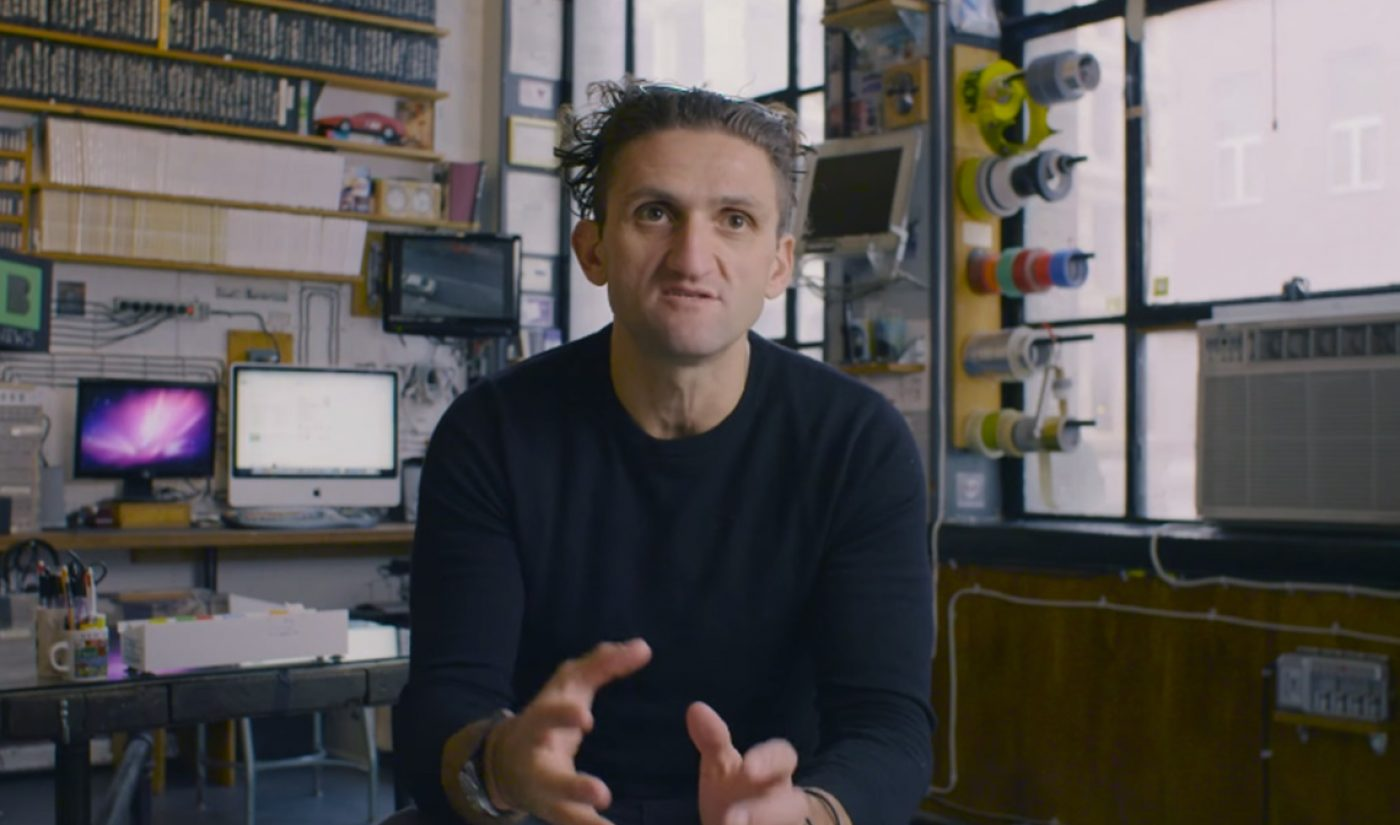 After 534 Consecutive Days, Casey Neistat Is Taking A (Temporary) Break From Vlogging