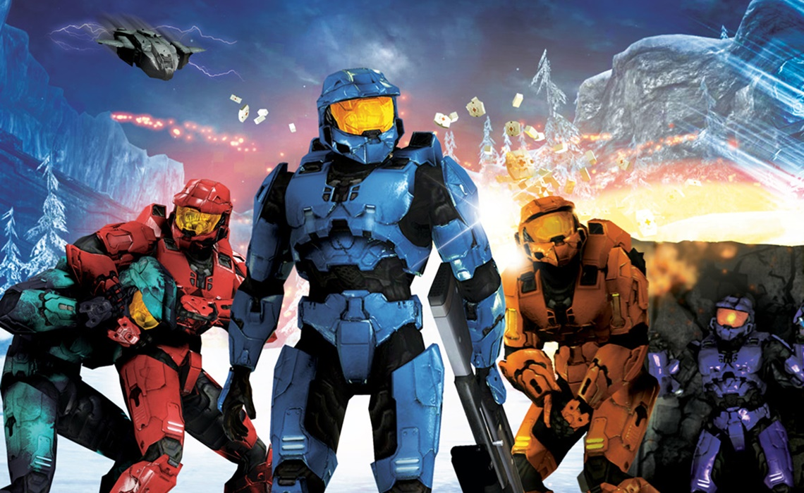 Red vs Blue Wallpapers (78+ images)