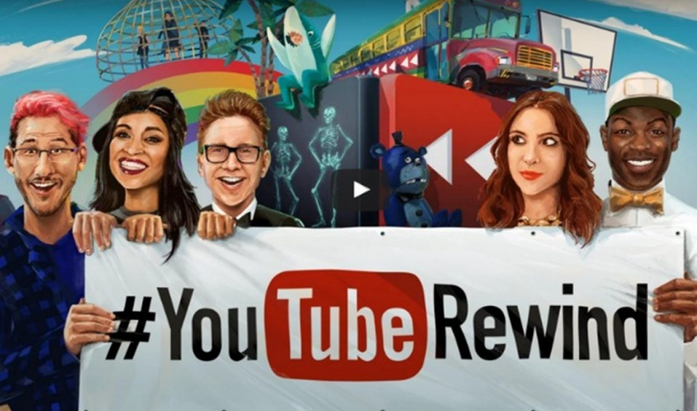 150 Creators Show Up In The 2015 Edition Of YouTube Rewind