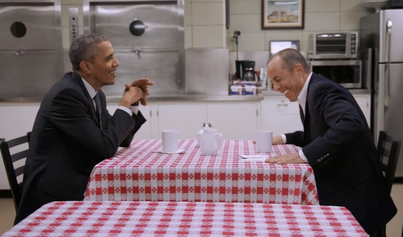 Jerry Seinfeld, President Obama Talk Politics And Underwear In New Episode Of 'Comedians In Cars Getting Coffee'