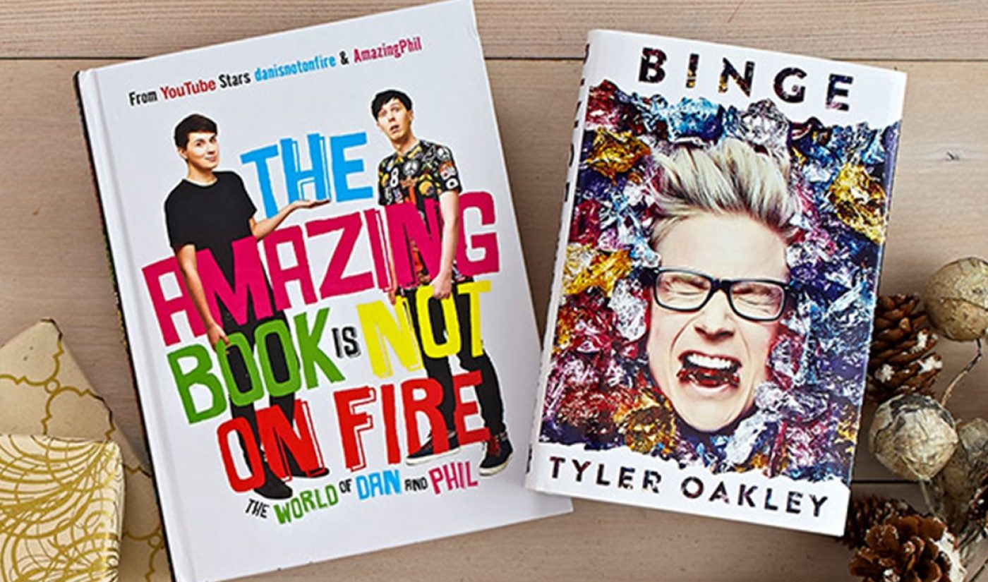 YouTube Stars Catalyze Recent Rise In Book Sales, Publishers Say