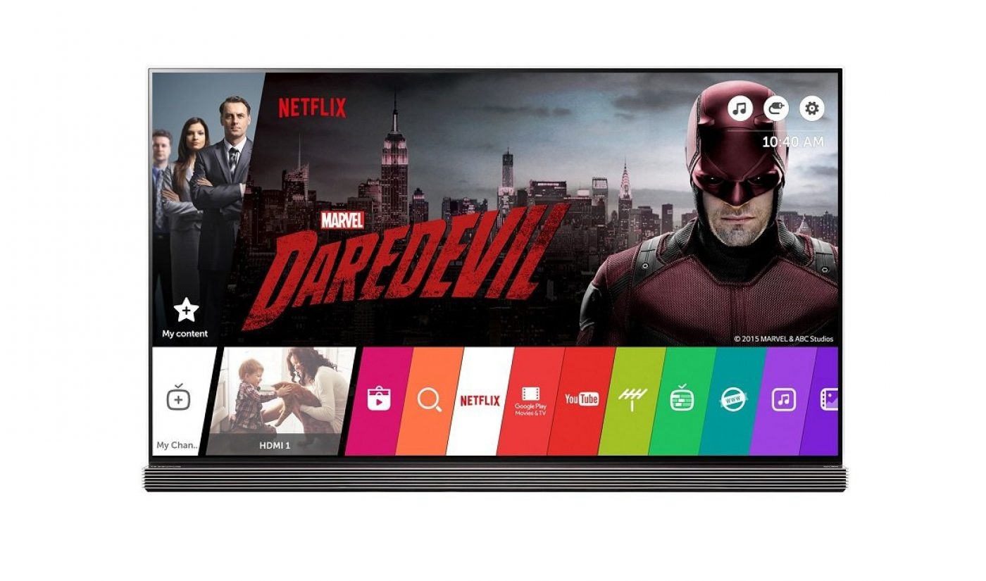 LG Will Add Internet Streaming Channels To New TVs, Partner With Netflix For Global Expansion