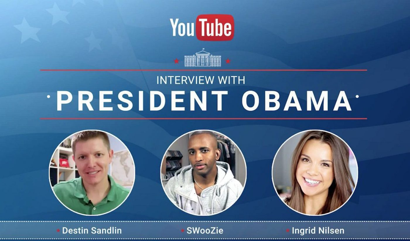YouTube Stars Will Interview President Obama After His Final State Of The Union Address