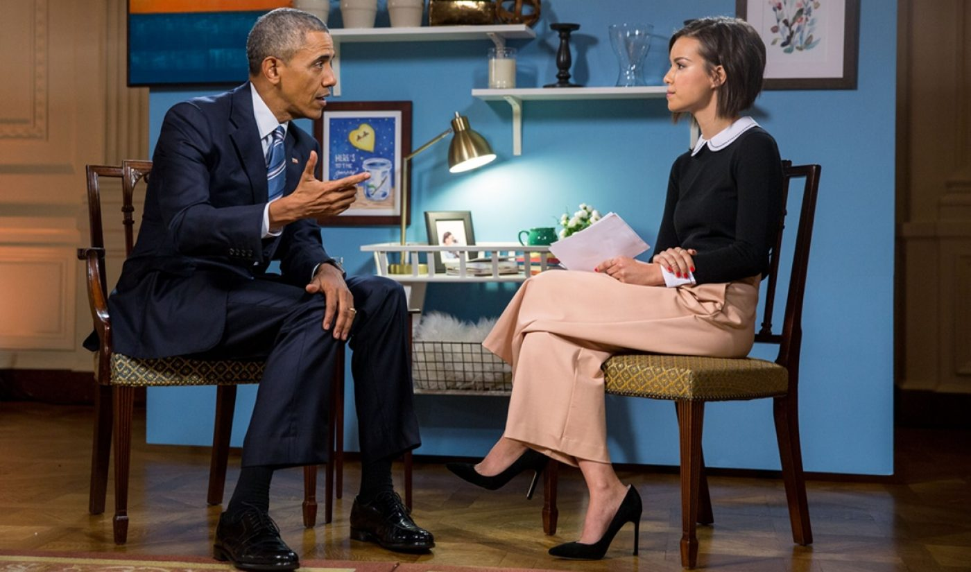 YouTube's Latest Interview With President Obama Draws Over One Million Views