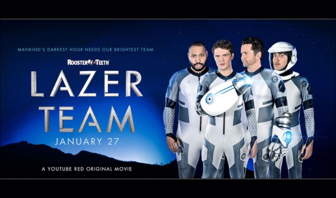 Rooster Teeth's 'Lazer Team' Feature Film Passes $1 Million In Theater Ticket Pre-Sales