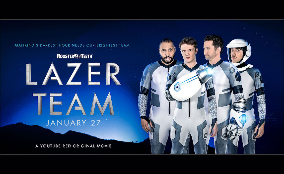 Rooster teeths lazer team feature film passes 1 million in rooster teeths lazer team feature film passes 1 million in theater ticket pre sales malvernweather Choice Image