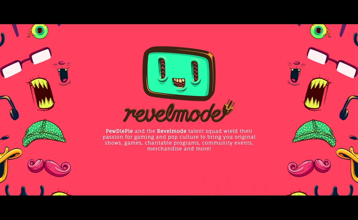 YouTube Star PewDiePie Now Has Own Video Network 'Revelmode'