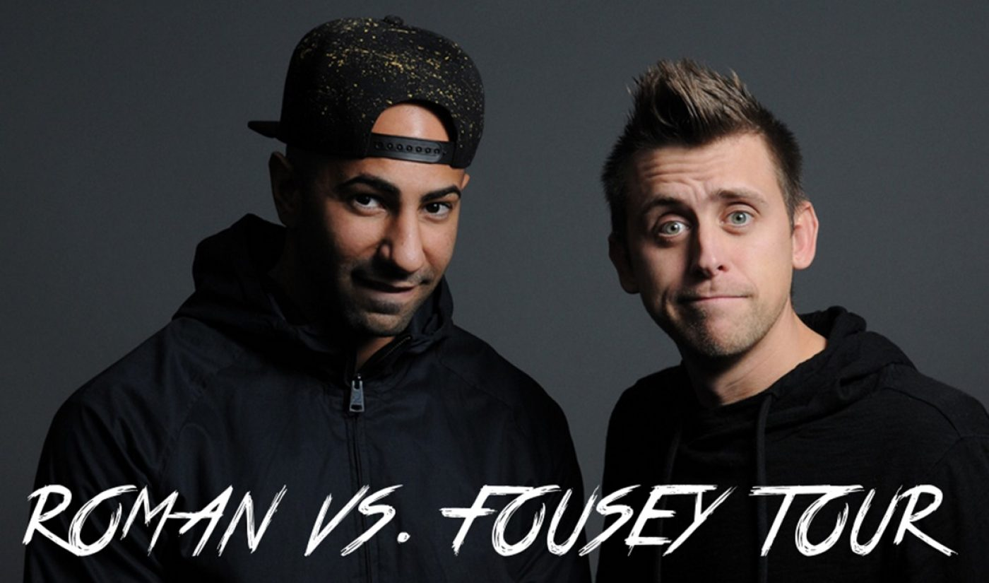 YouTube Pranksters Roman Atwood, FouseyTUBE Join Forces For Five-City Tour