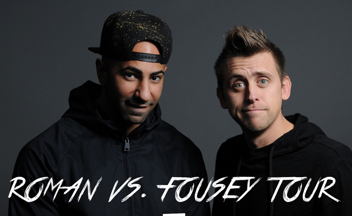 Youtube Pranksters Roman Atwood Fouseytube Join Forces For Five