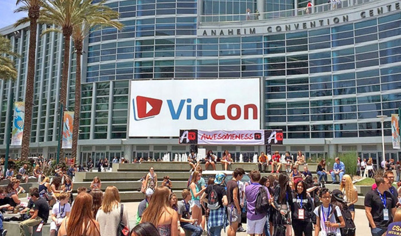Executives From YouTube, Pepsi, UTA Tapped To Curate VidCon's Industry Track