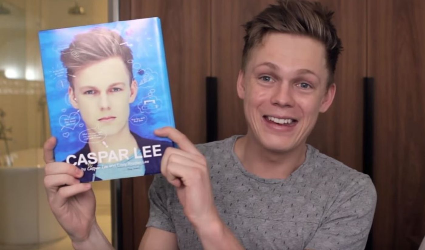 Caspar Lee Is Releasing A Self-Titled Biography — Written By His Internet-Famous Mom