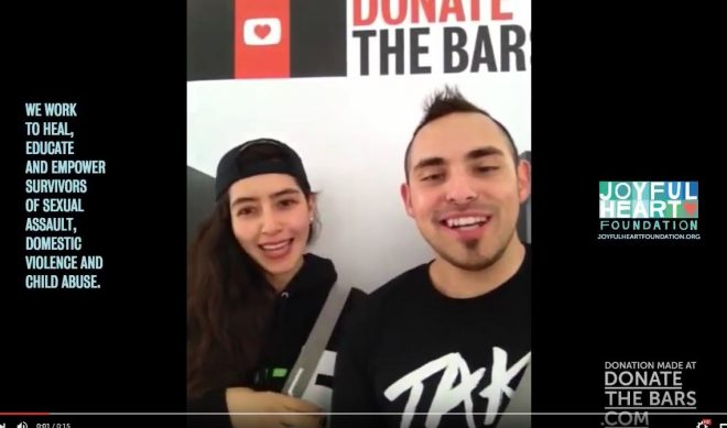 'Donate The Bars' Charity Campaign Aims To Raise Awareness Via Vertical Video Syndrome