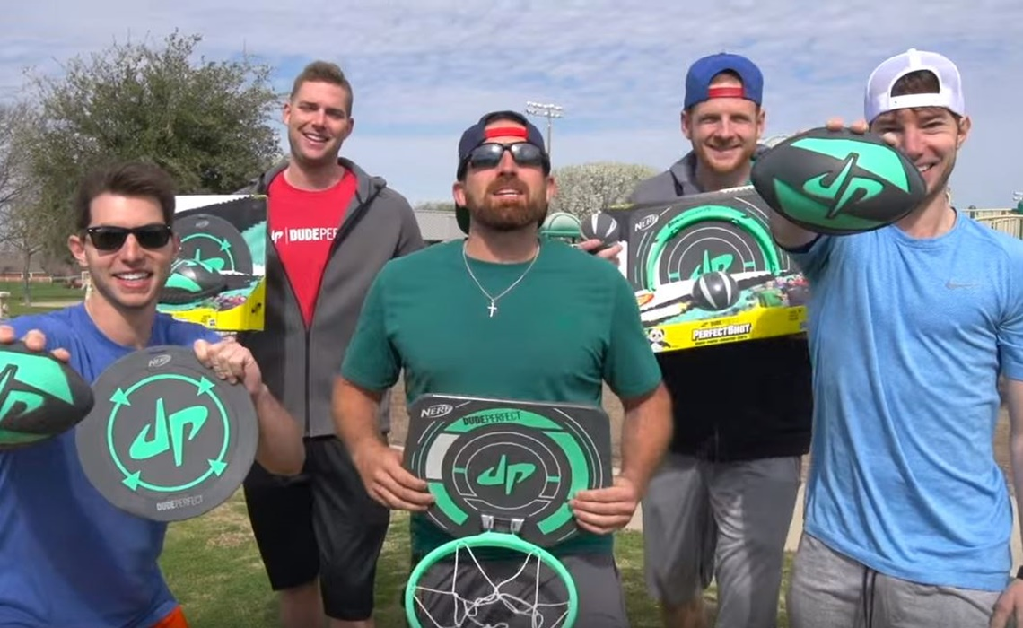 CMT Orders TV Series Based On Dude Perfect YouTube Channel