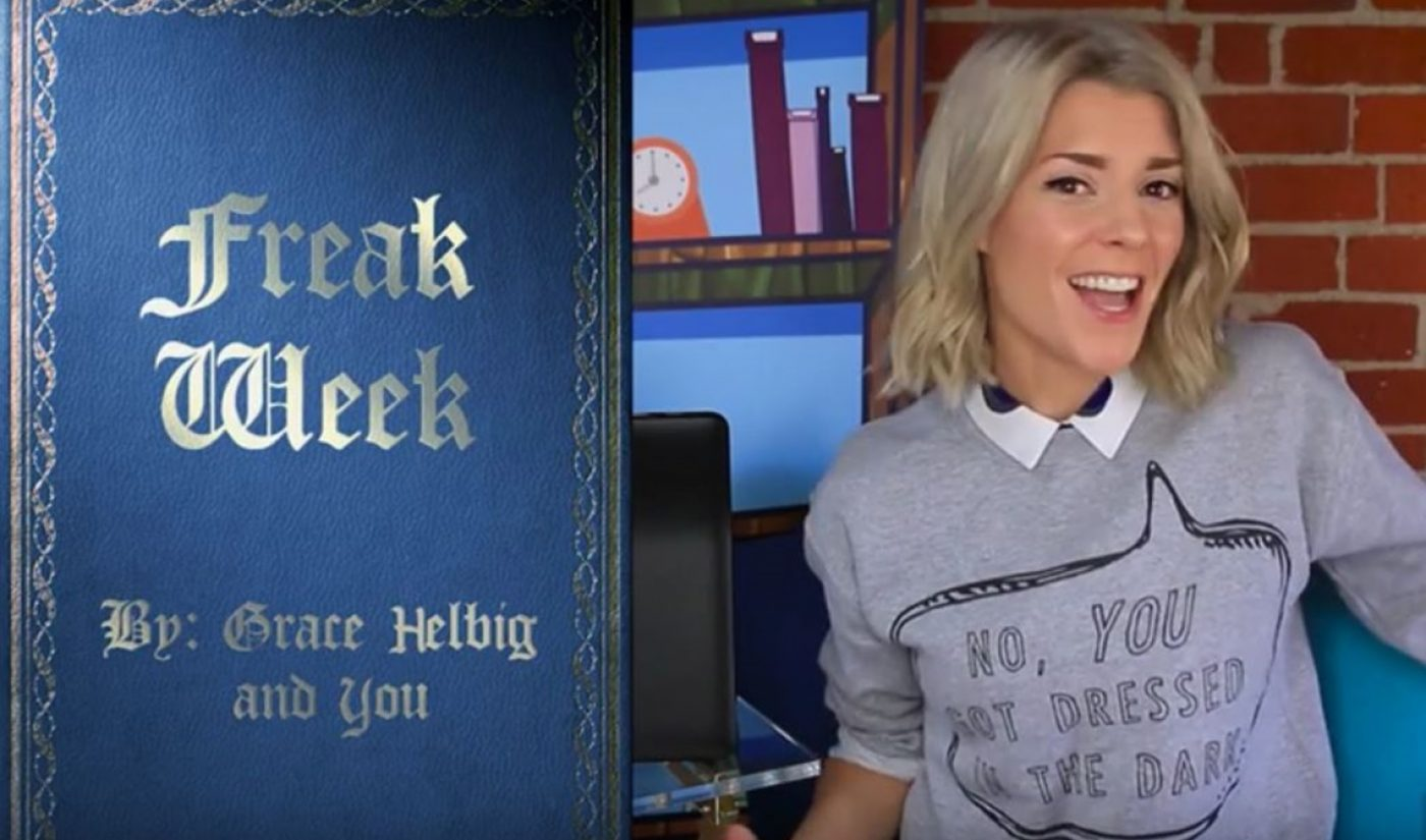 YouTube Star Grace Helbig Is Writing An Interactive Novella With Her Fans
