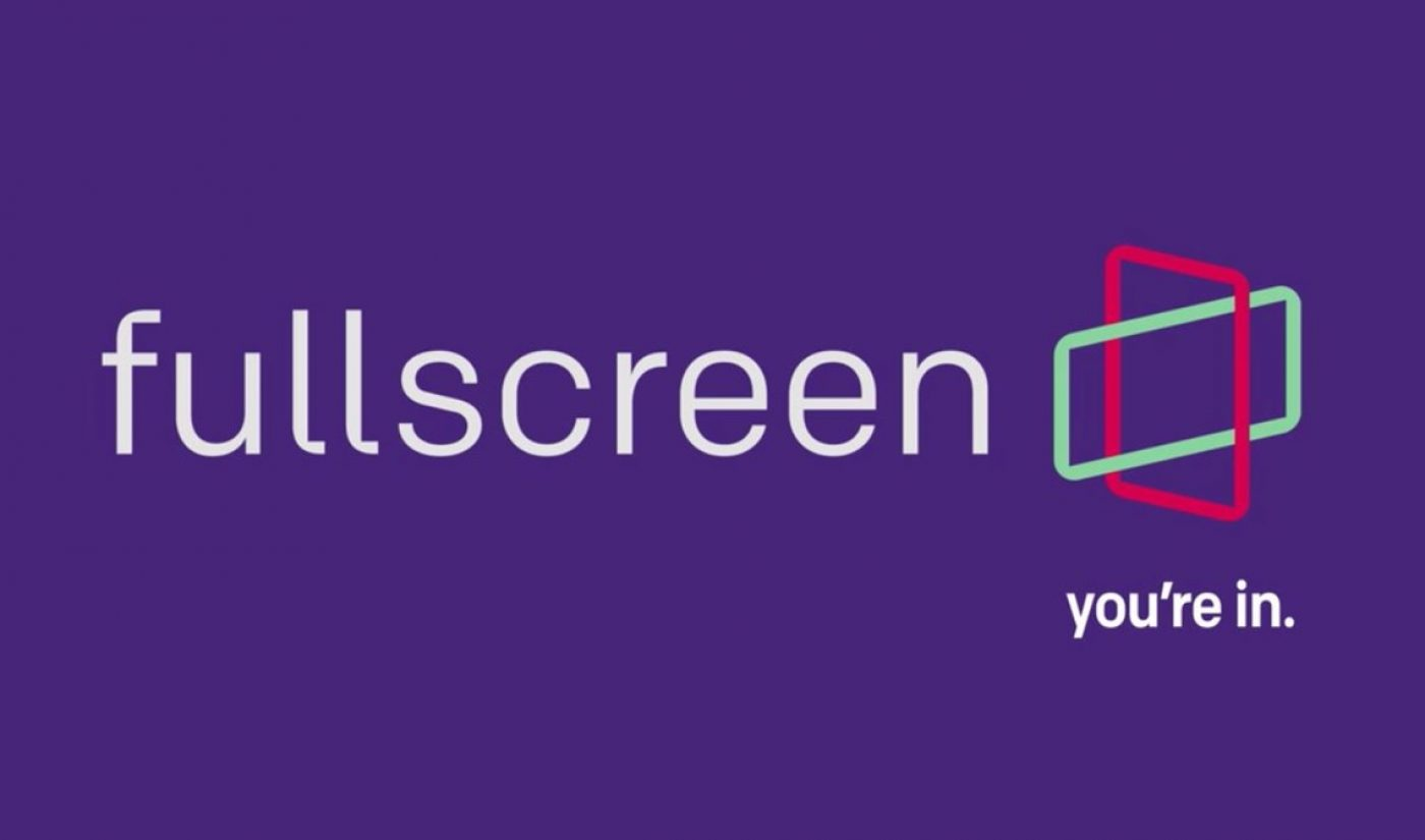 Fullscreen Set To Launch Ad-Free Subscription Service 'fullscreen' In April With Full Slate Of Originals