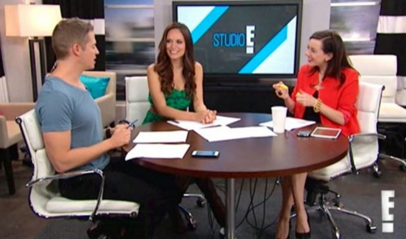 E! Launches Daily Series On Facebook's Live-Streaming Platform