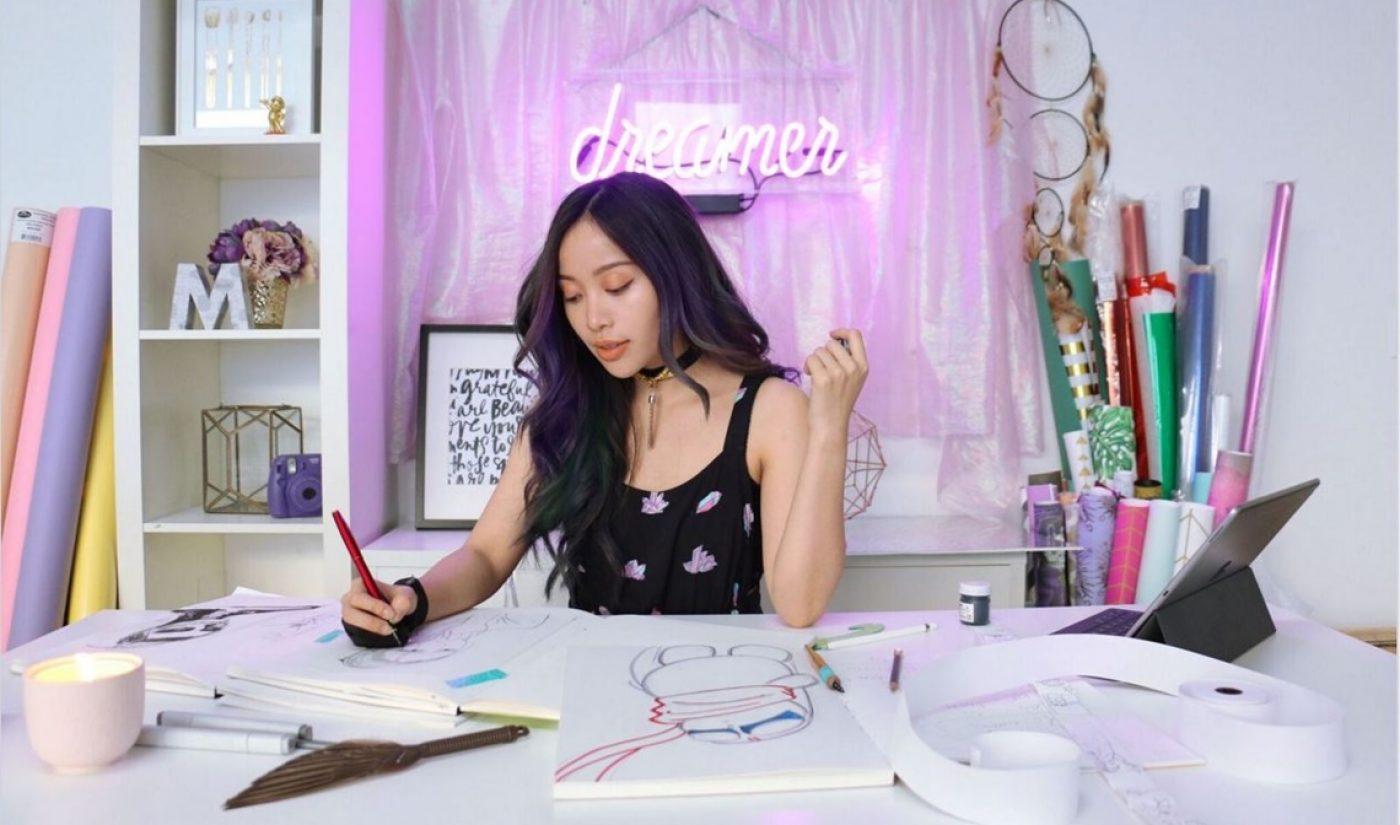 Michelle Phan Launches Original Comic Series 'Helios: Femina' Exclusively On LINE Webtoon
