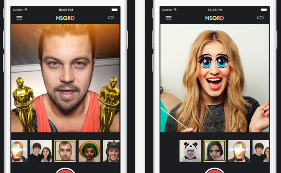 Facebook Buys MSQRD, A Live Selfie Filter App That Smacks Of