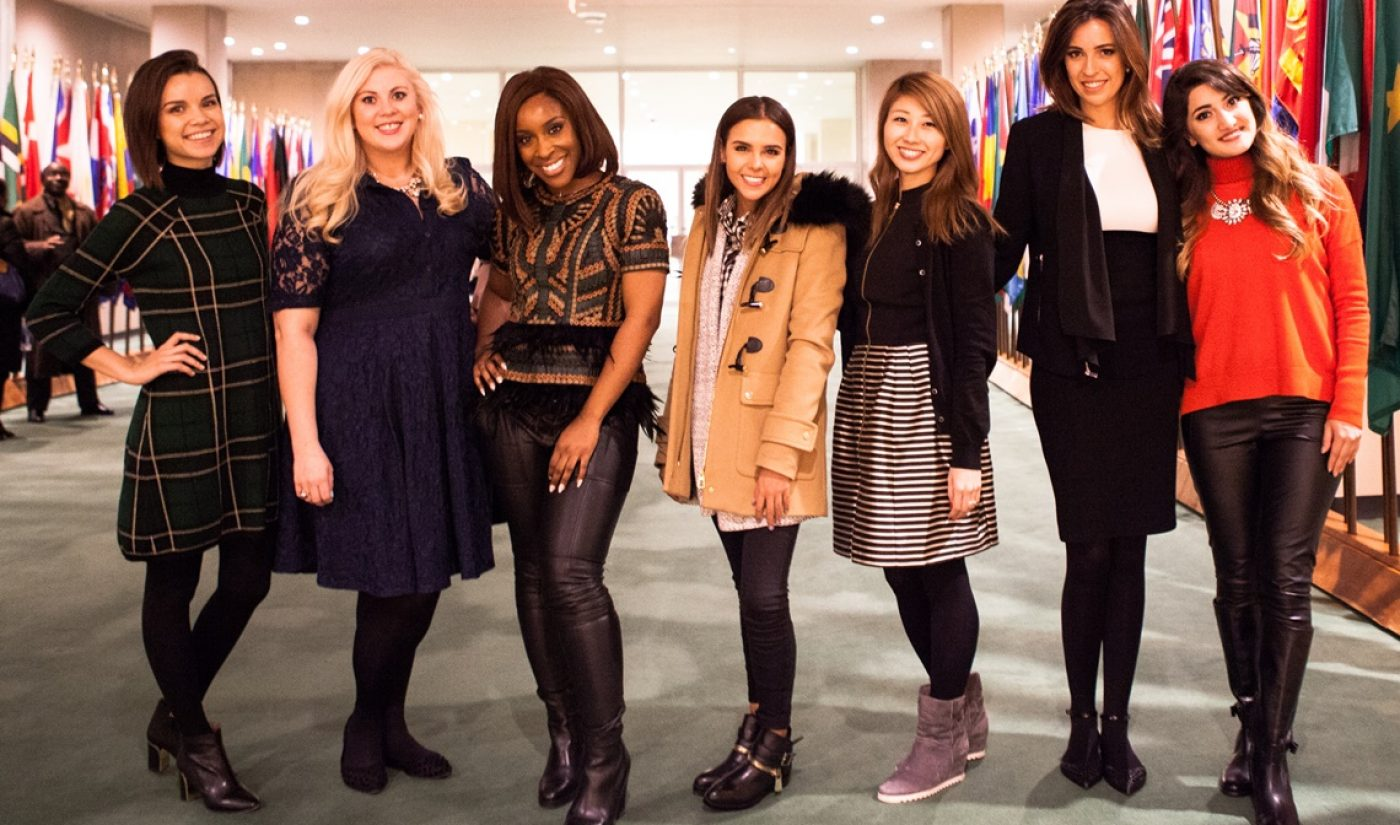 7 Female YouTube Stars Will Fight For Gender Equality As 'Change Ambassadors' To The UN