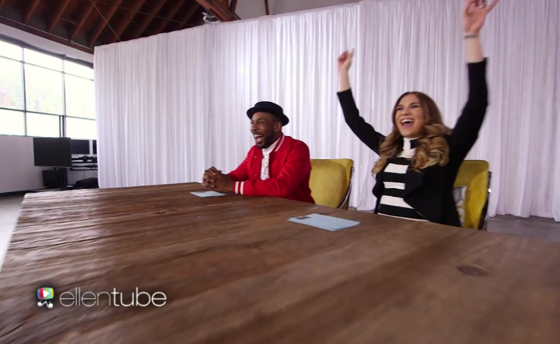 Ellen Degeneres Premieres 'Dance Challenge' As Ellentube's First Original Series