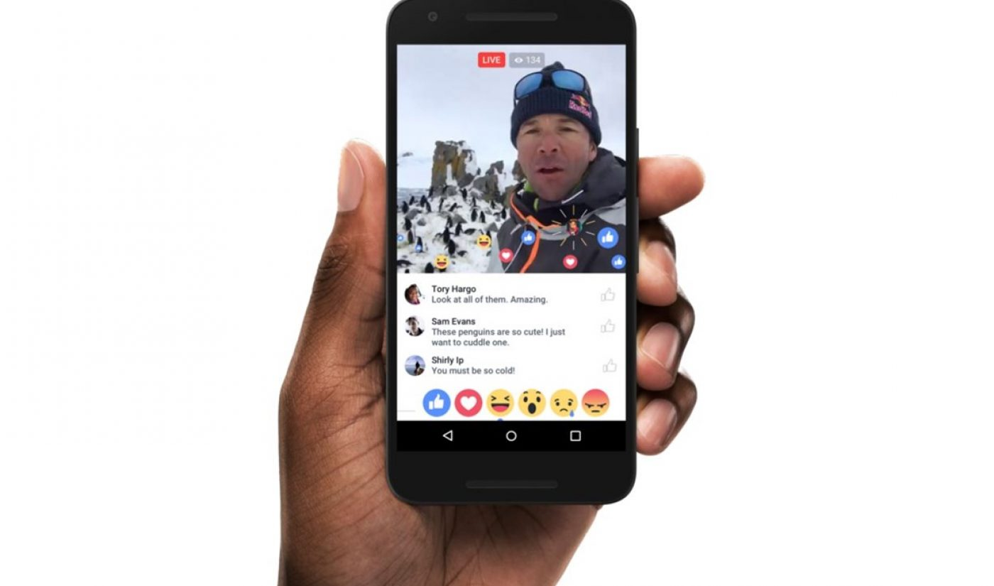 Monetizing 'Live'? Facebook Now Testing Mid-Roll Ads Inside Broadcasts