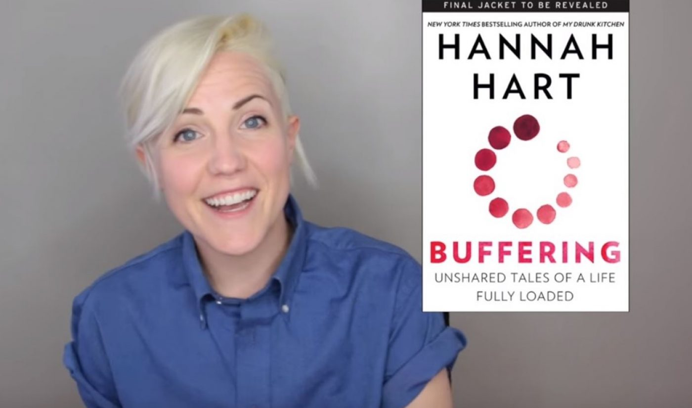 Hannah Hart Unveils Second Book Titled 'Buffering', A Collection Of Deeply Personal Narrative Essays