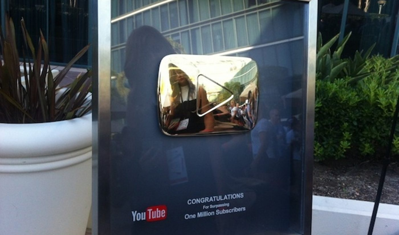 There Are Now 2,000 YouTube Channels With At Least One Million Subscribers