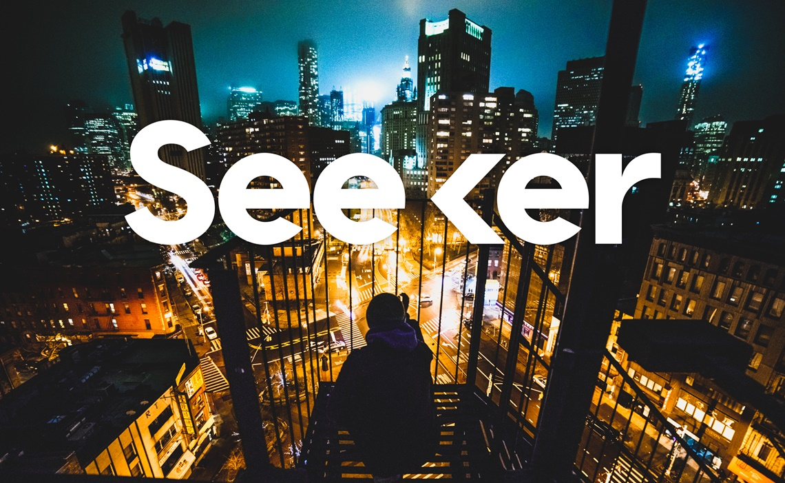 Seeker Logo with Background