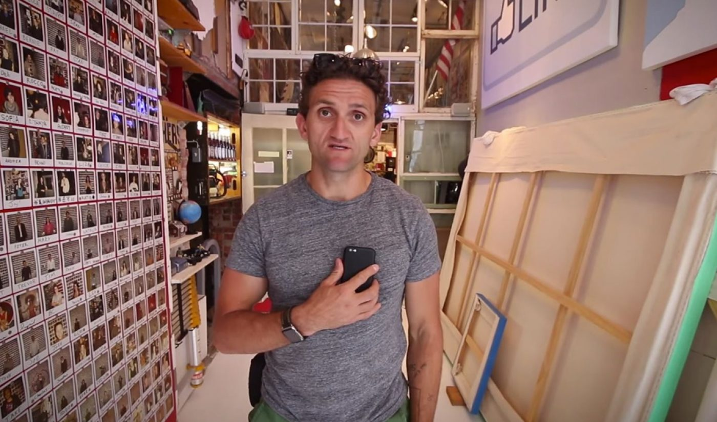 After A Blockbuster Launch, Casey Neistat Brings Buggy 'Beme' App Out Of Beta