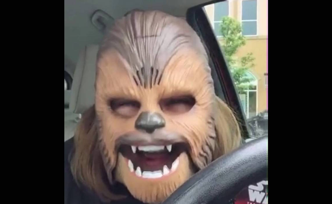 Stay-At-Home Mom's Chewbacca Video Gets 136 Million Views, Most Ever On Facebook Live
