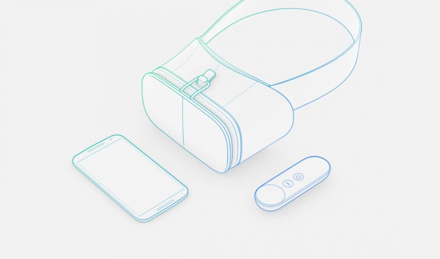 Google Unveils New 'Daydream' Virtual Reality Platform, YouTube Launching Dedicated VR App