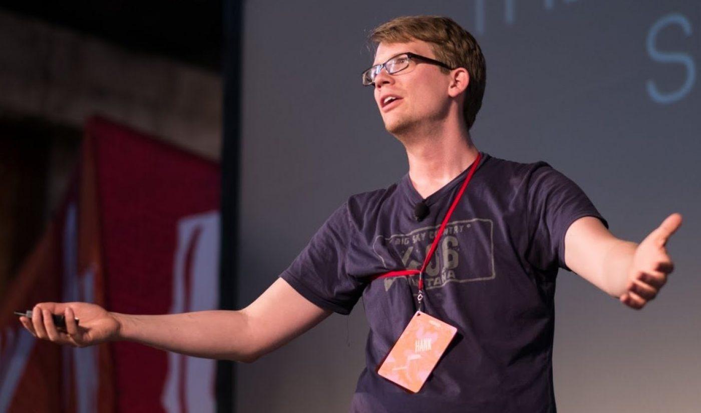 Hank Green Establishing 'Internet Creators Guild' Nonprofit To Champion The Creator Community