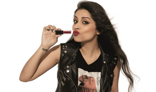 Lilly Singh Is A 'Bawse' With Latest Smashbox Cosmetics Lipstick Collaboration