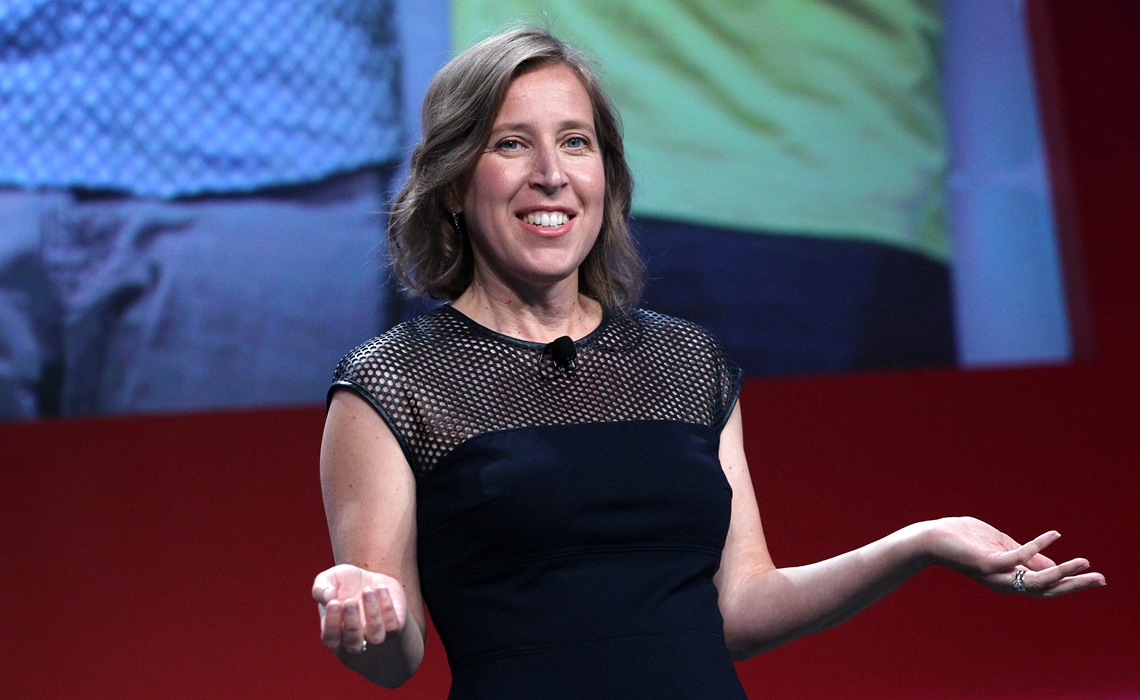 ANAHEIM, CA - JUNE 23:  YouTube CEO Susan Wojcicki speaks at the industry keynote during VidCon at the Anaheim Hilton on June 23, 2016 in Anaheim, California.  (Photo by FilmMagic/FilmMagic for YouTube)