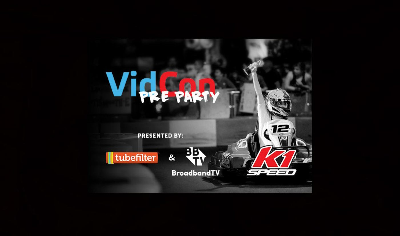 Join Us At Tubefilter's 6th Annual VidCon Pre-Party, Fueled By BBTV