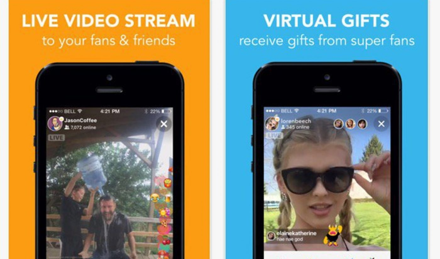 Musical.ly's New Live Streaming App Gets Close To 500,000 Installs In Four Days