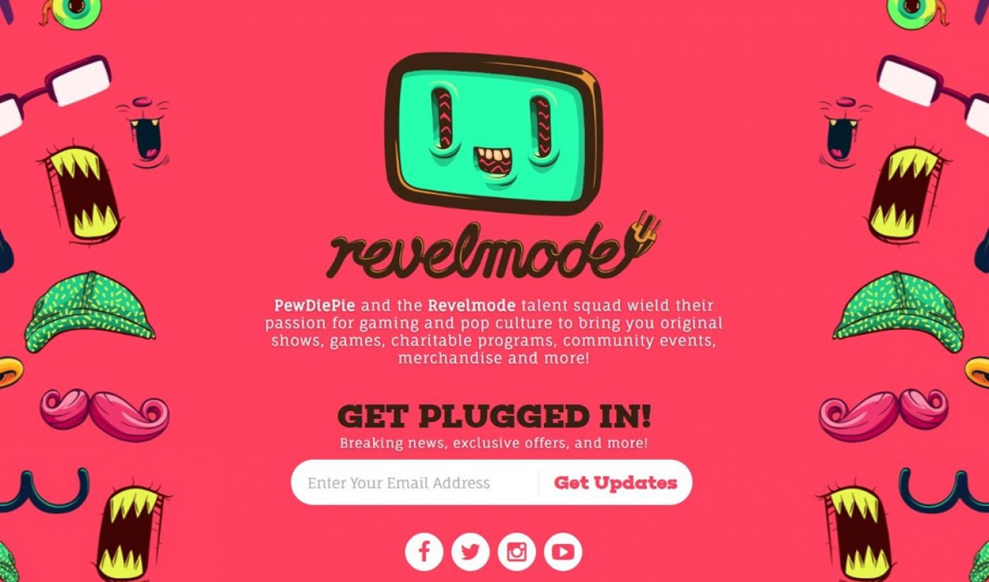 PewDiePie's Revelmode Launches First Network-Wide Charity Initiative Benefiting Crisis Text Line