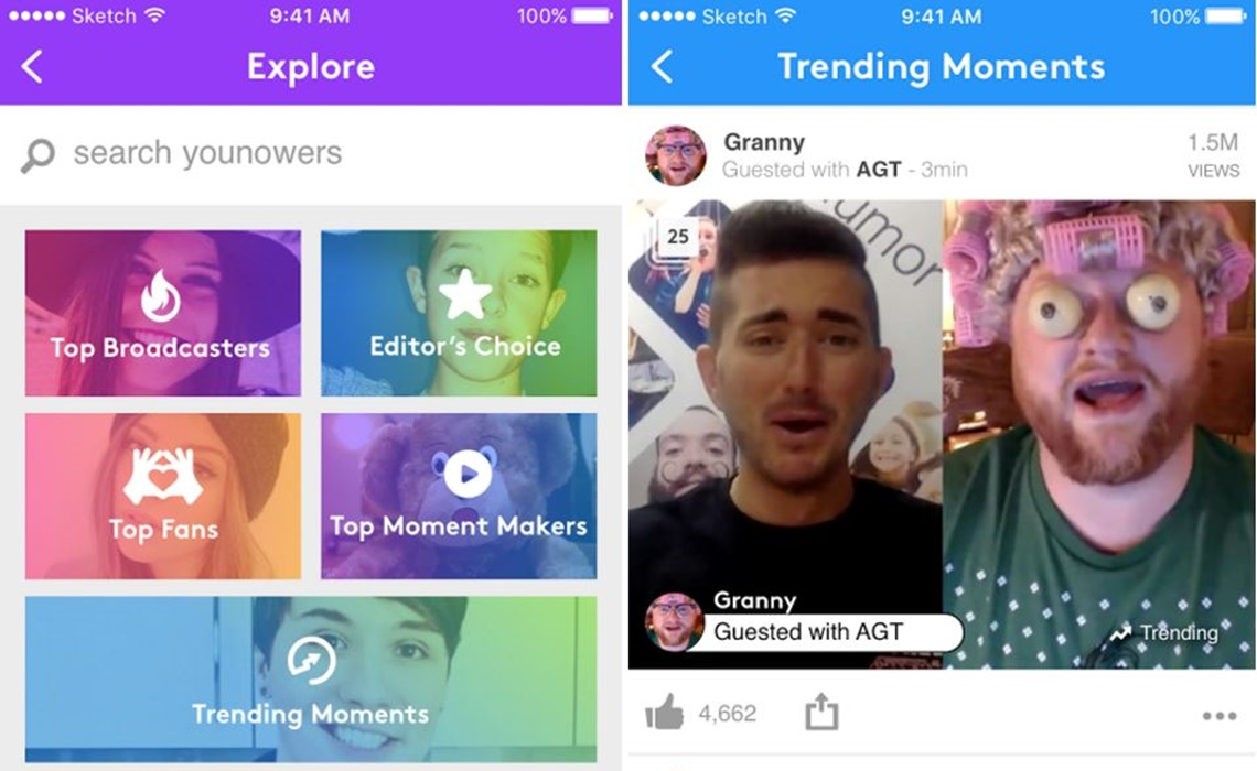 younow-moments-update