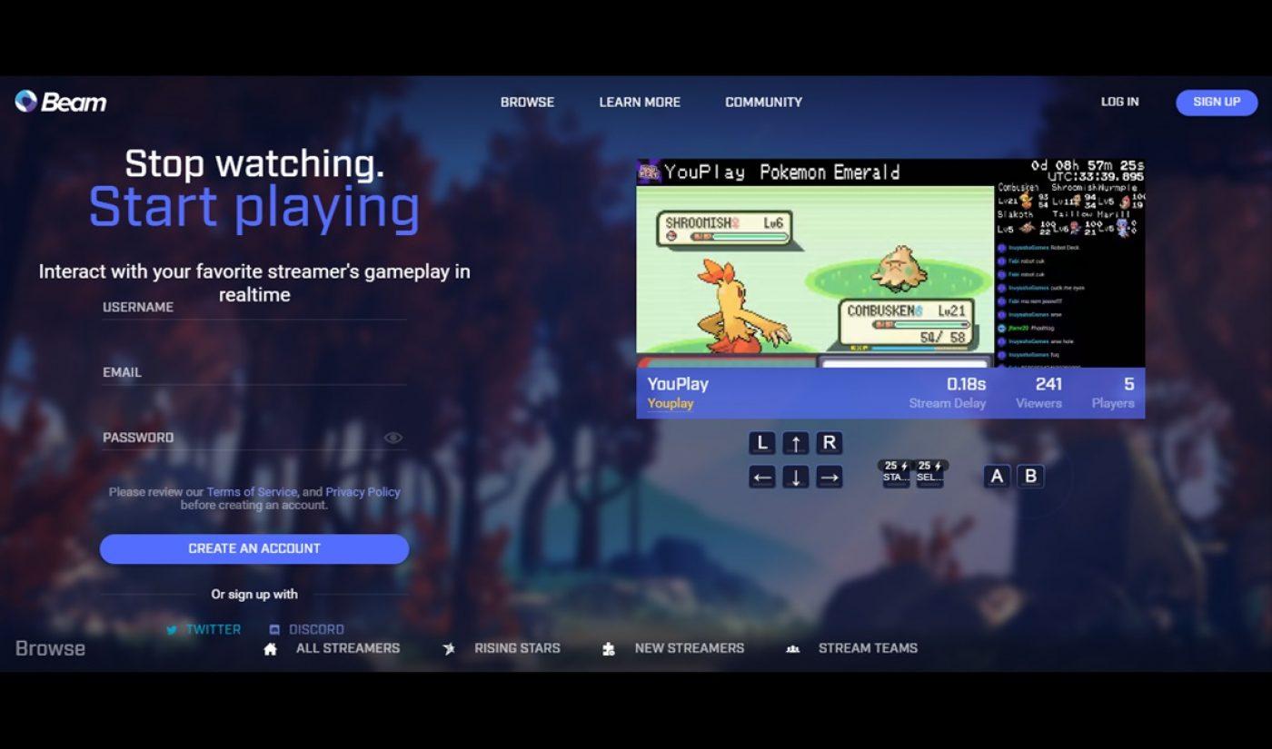 Microsoft's Xbox Acquires Twitch Competitor