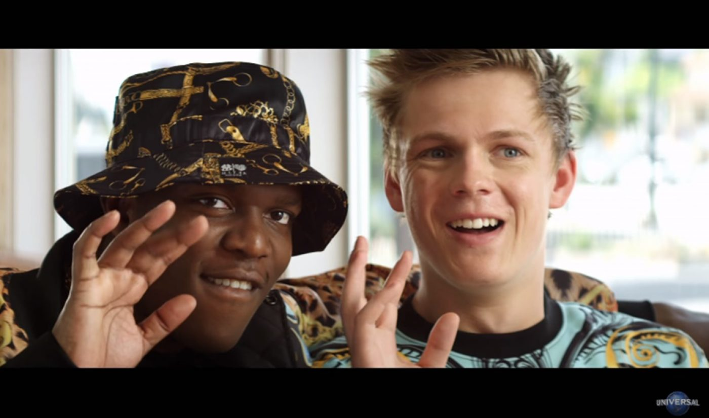Here's The Trailer For 'Laid In America,' Starring YouTube Bigshots Caspar Lee And KSI