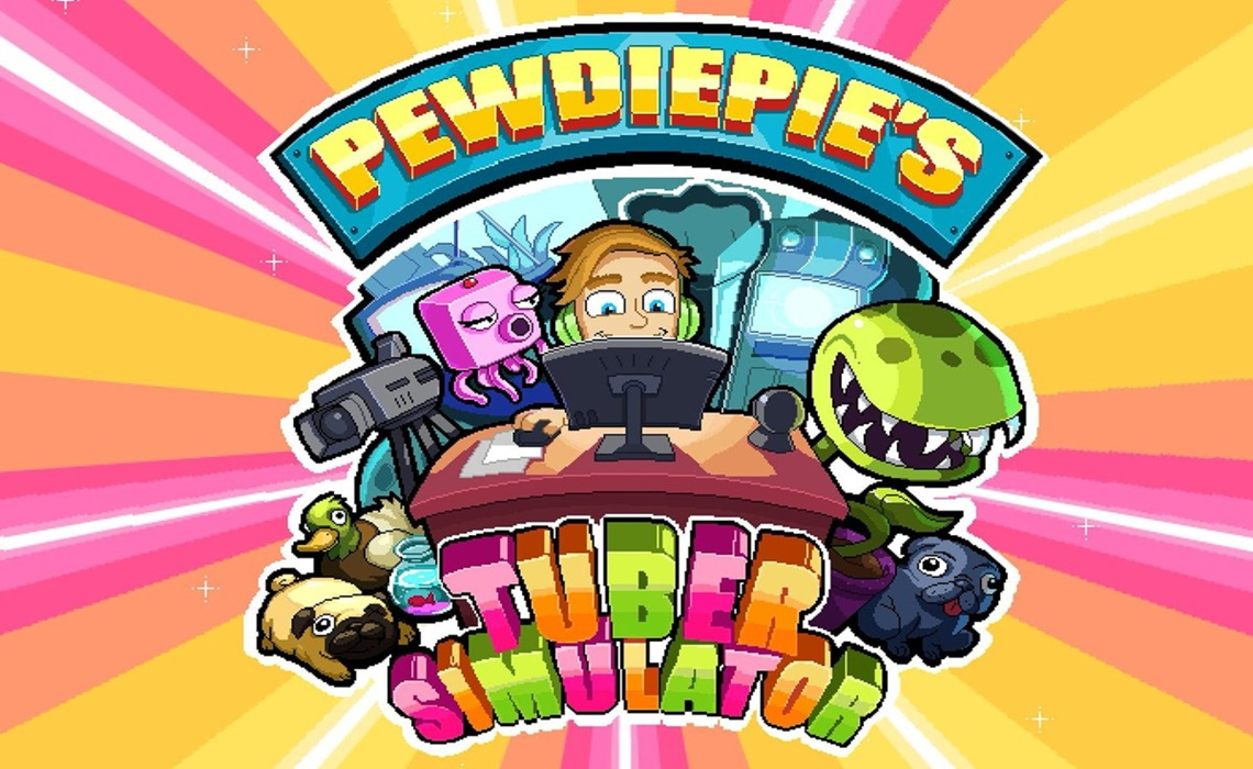 pewdiepie tube simulater  game review