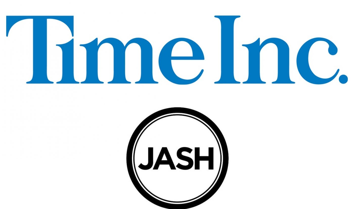 Time Inc. And Jash Team Up To Make Branded Content