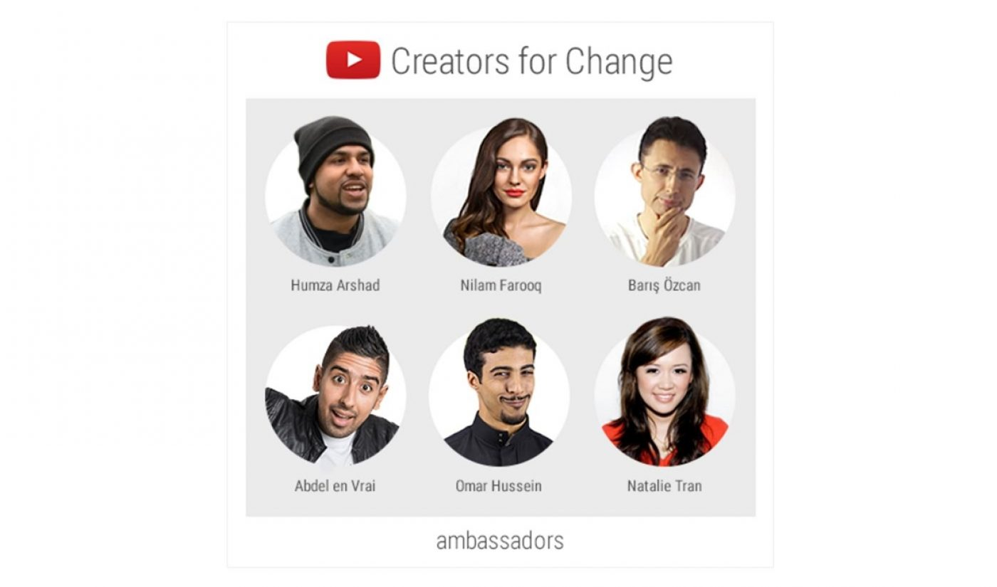 YouTube's 'Creators For Change' Initiative Will Give Influencers $1 Million To Tackle Social Issues